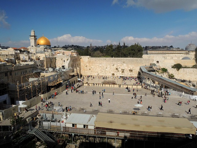 If there's one photo of Jerusalem, I suppose this is it by bryandkeith on flickr