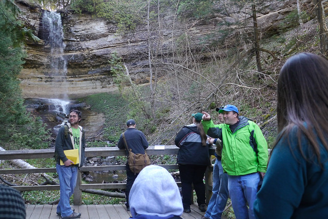 Geo Science Class at Pictured Rocks