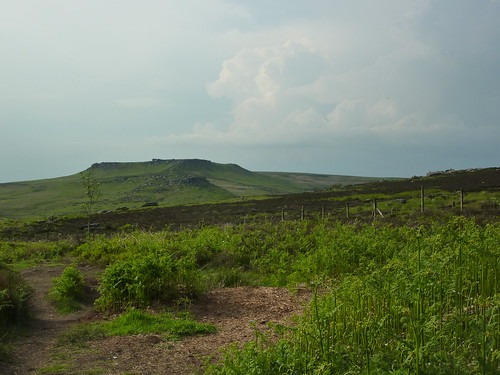 Higger Tor, from Fox House Inn SWC Walk 266 - Sheffield to Bamford (via Burbage Rocks and Stanage Edge) or to Moscar Lodge