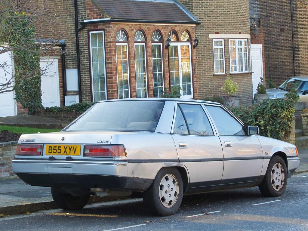 1985 Mitsubishi Galant Gls Automatic I Do Like The