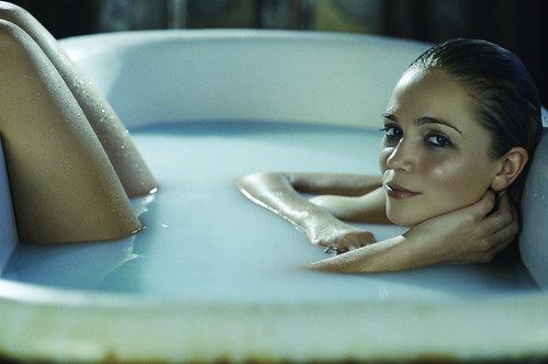 She Bathes In Tones Of Torquoise | by TJ Scott