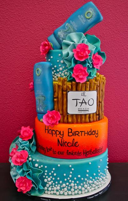 Nicole Scherzinger Herbal Essence Birthday Cake