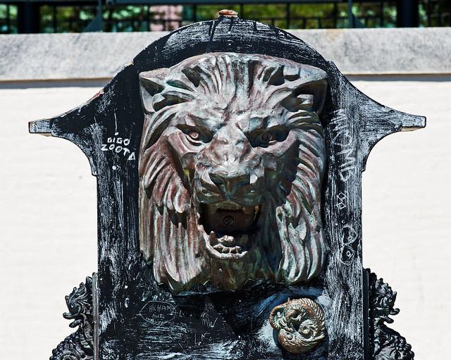 Lion-Waterspout