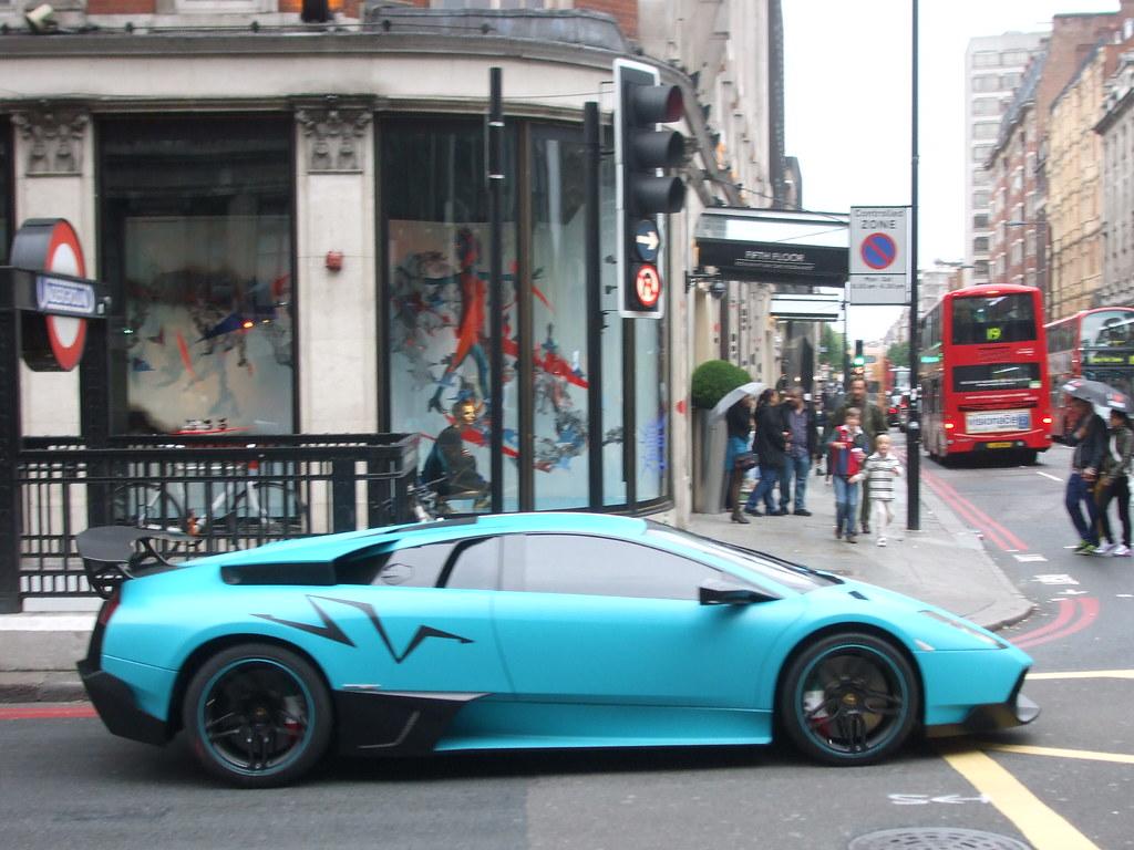 Lamborghini Murcielago Lp670 4 Sv Turquoise Al Thani Sv In Flickr