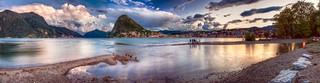 Lake Lugano - Lago di Lugano, Switzerland - Panoramic HDR   by Paolo Margari   paolomargari.eu