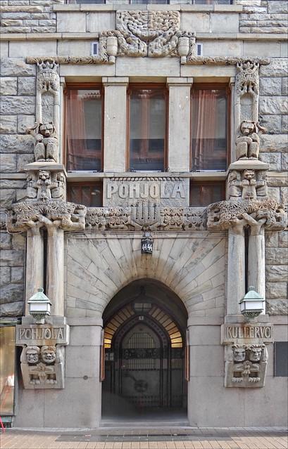 L'art nouveau à Helsinki : l'immeuble Pohjola