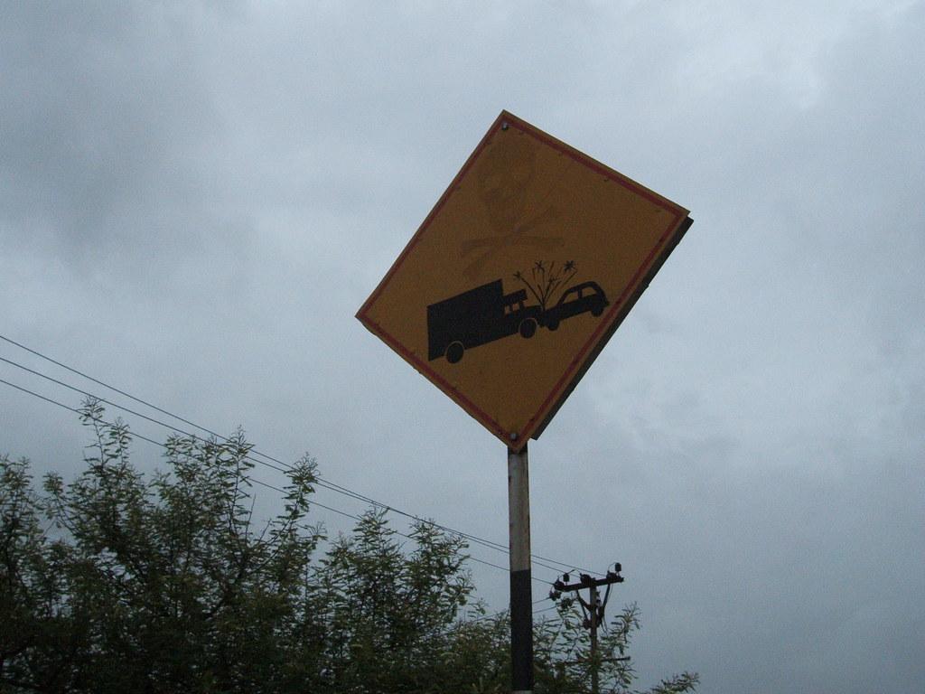 Accident spot