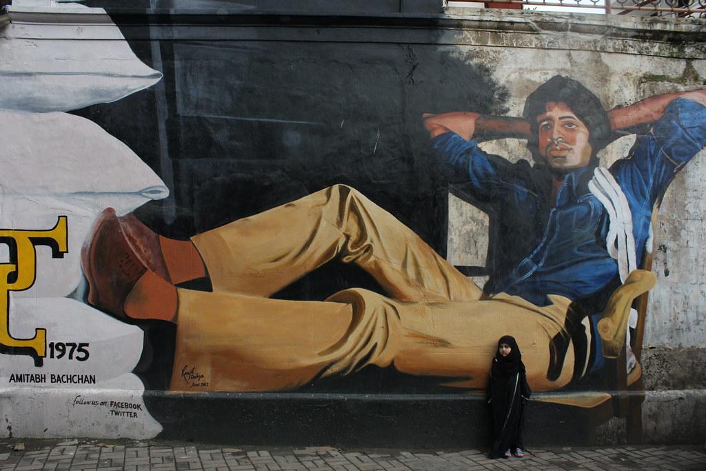 The Great Wall of Bollywood Mr Amitabh Bachchan Deewar | Flickr