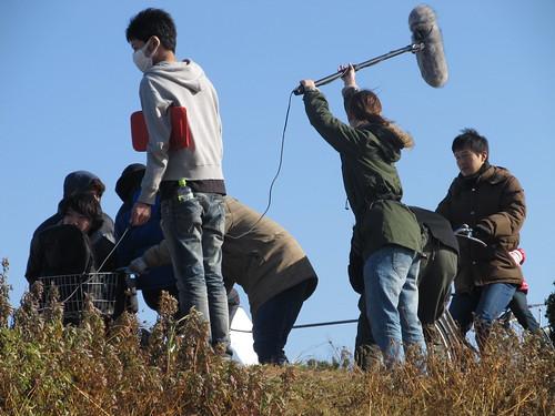 韓国の東西大学との共同制作映画「冬の花火」