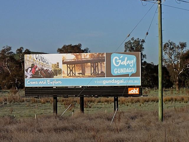Roadside Billboard Gundagai