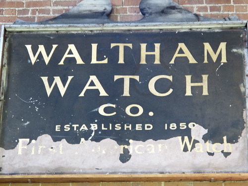 Charles River Museum of Industry and Innovation - Waltham Watch Company sign | by BillDamon