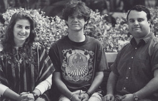 Lorig Garkoudian '95, Greg Vinson '95 and Dave Saltzer '94 were three students highlighted for their volunteer work in a 1993 Pomona College Today article on the newly established Student Volunteer Center,