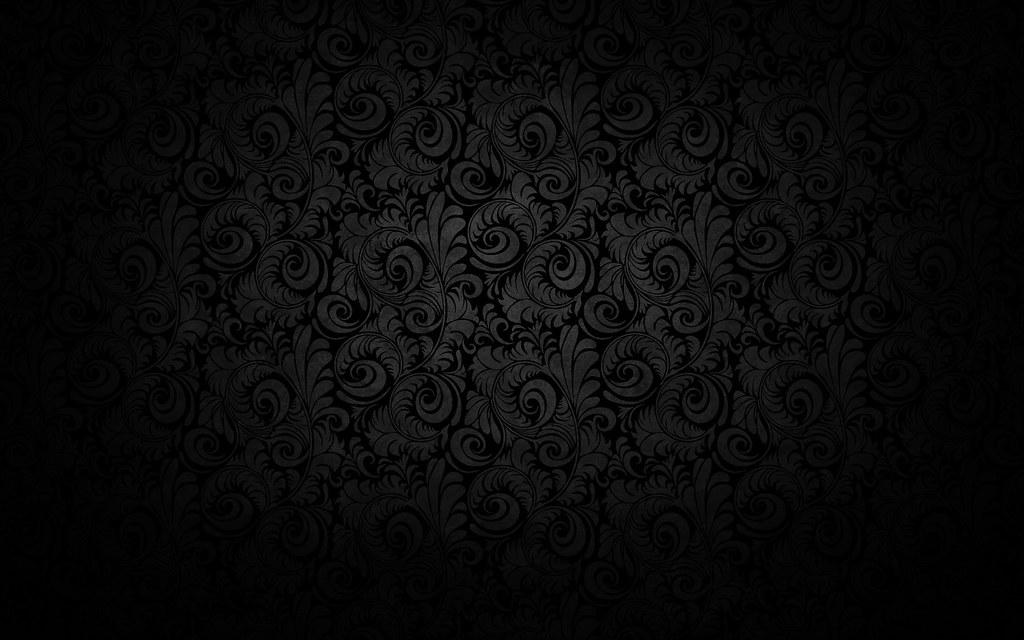 Korea Black Darkened Pattern Wallpaper High Definition Wal