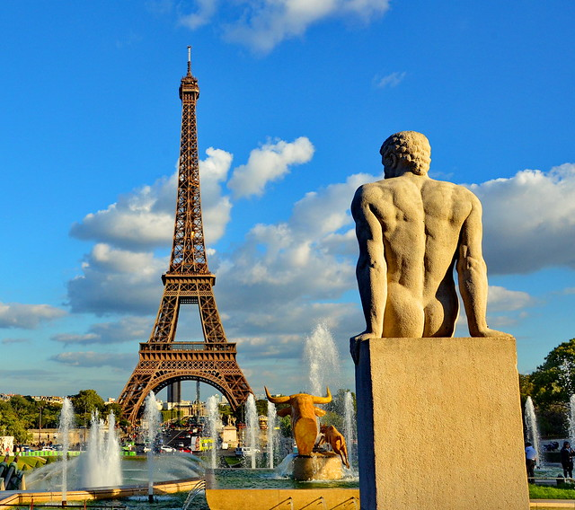 Another view of the Eiffel Tower