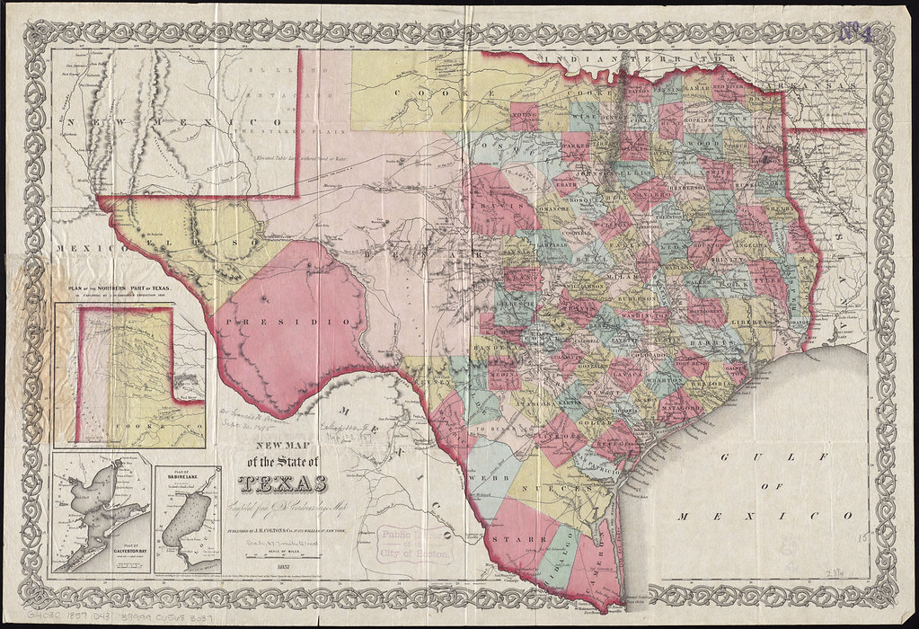 Map Of Northern Texas.New Map Of The State Of Texas Zoom Into This Map At Maps B Flickr