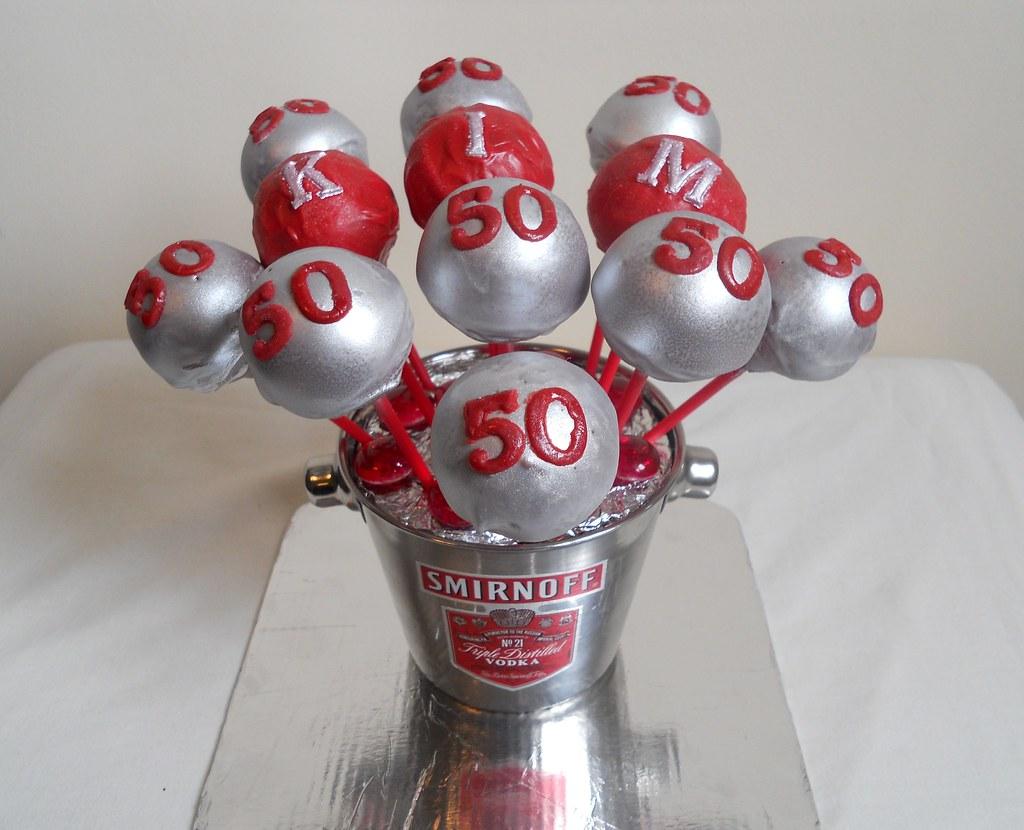 Wondrous 50Th Birthday Cake Pops 3 50Th Birthday Cake Pops 3 Flickr Funny Birthday Cards Online Inifodamsfinfo