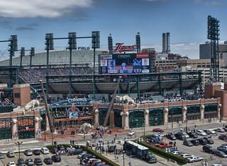 Comerica Park - Detroit Tiger's Baseball Stadium | by w4nd3rl0st (InspiredinDesMoines)