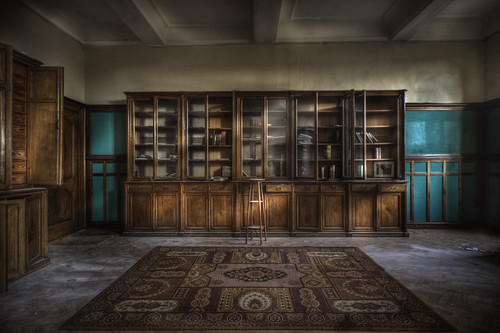 Abandoned monastery library :  (explore ) | by andre govia.