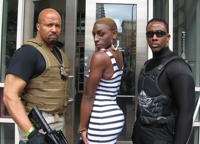 DSS Agent Luke Hobbs, Koko and Blade