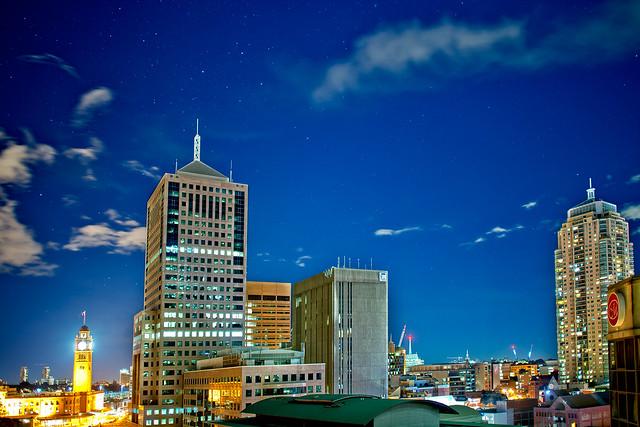Sydney-Sky 18/07/2012