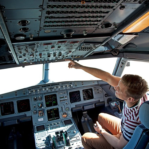 Co-pilot checklist: 1) Don't touch anything 2) Keep your m