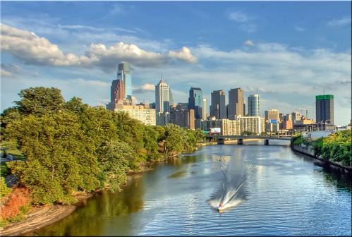 cityscape jetski schuylkillriver philadelphiapa flickraward