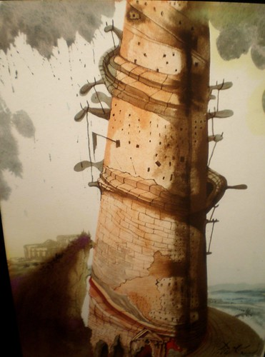 Salvador Dalí 'Tower of Babel' | by hanneorla