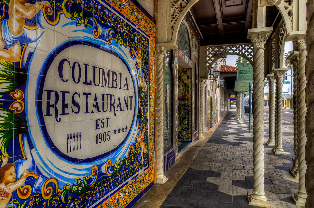 Columbia Restaurant Ybor City Fl Columbia Restaurant