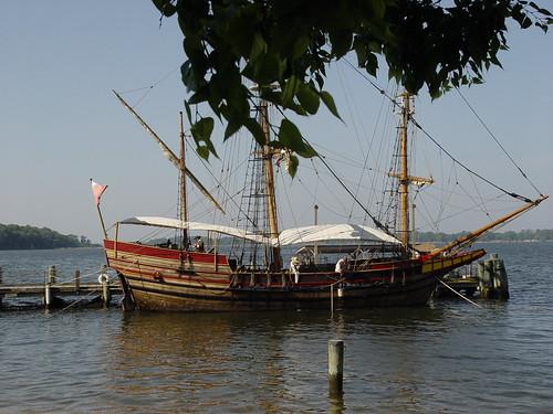The Maryland Dove, Historic St. Mary's City