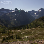 View from Boulder Pass area