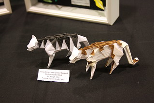Origami Tigers and Leopards - Page 1 of 3 | Gilad's Origami Page | 213x319