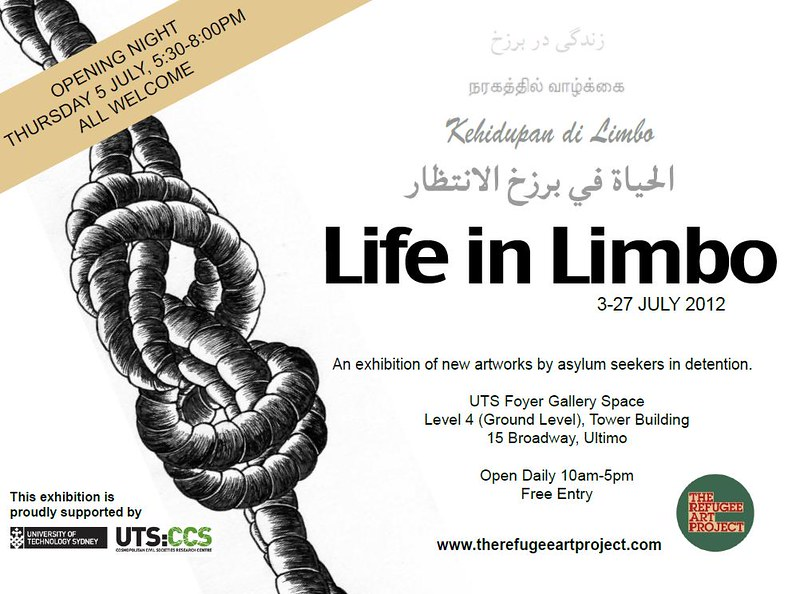 The Refugee Art Project presents Life in Limbo