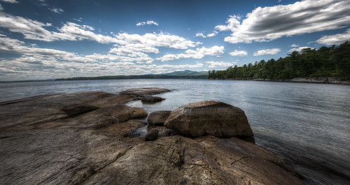 panorama usa lake holiday ny newyork canon landscape eos scenery rocks perspective northshore 5d westport lakechamplain 5dmarkiii sccgal