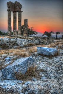 Acropolis of Rhodes   by Fraser Ross