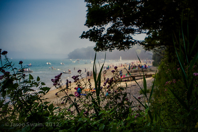Sea Fog rolling in at Priory Bay  #4 of 4