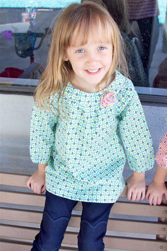 Gwen in her tunic top | by Darci - Stitches&Scissors