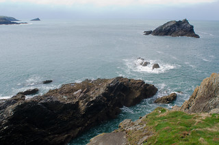 Pentire Head, Newquay, Cornwall by Thomas Tolkien   by Thomas Tolkien