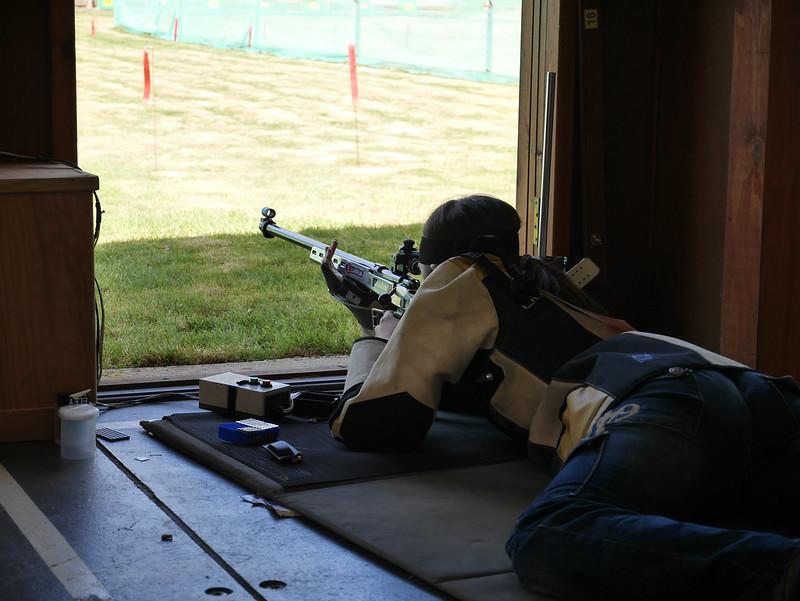 Siobhan shooting prone