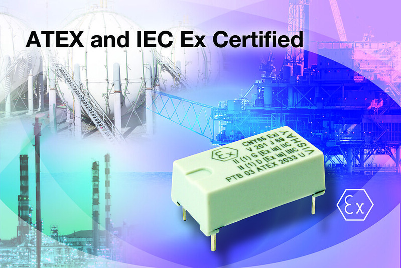 CNY65Exi ATEX Certified Optocoupler Designed for Operation in Potentially Explosive Environments