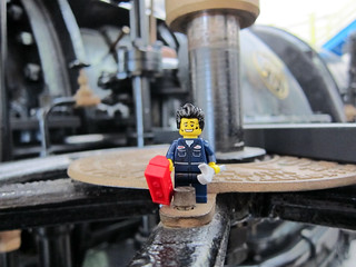 LEGO Collectible Minifigures Series 6 : Mechanic   by wiredforlego