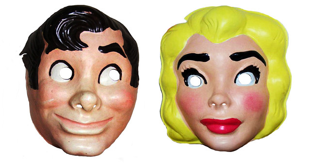 Lil Abner and Daisy Mae Masks 5757