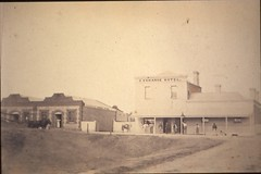 Murray Street 155 Exchange Hotel before 1875