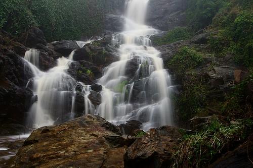 Waterfall, Mount Baranduda   by Dirk Wallace