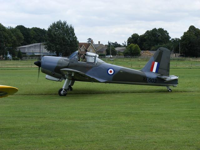 Percival Provost T.1 - XF 603 @ Shuttleworth 2009