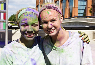 Karly & Morgan  The Color Run