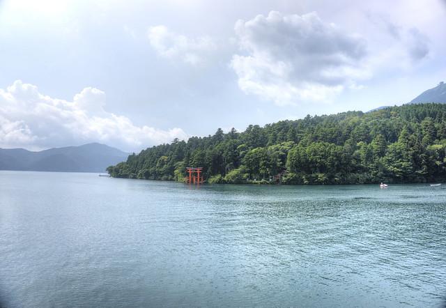 Japón 252 Hakone - Lago Ashi Tori