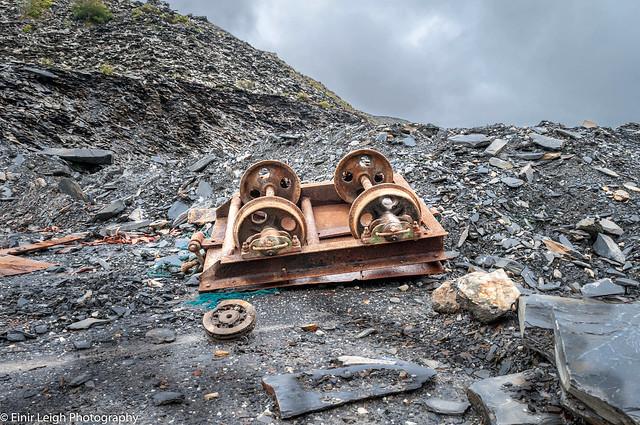 Time will never forget...Blaenau Ffestiniog Slate quarry.North Wales