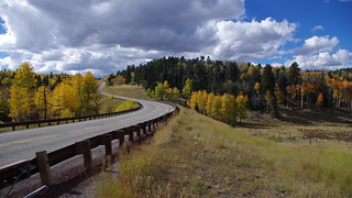 New Mexico - Highway 64 - Tres Piedras to Tierra Amarilla - Autumn / Fall Colours | by Motapics