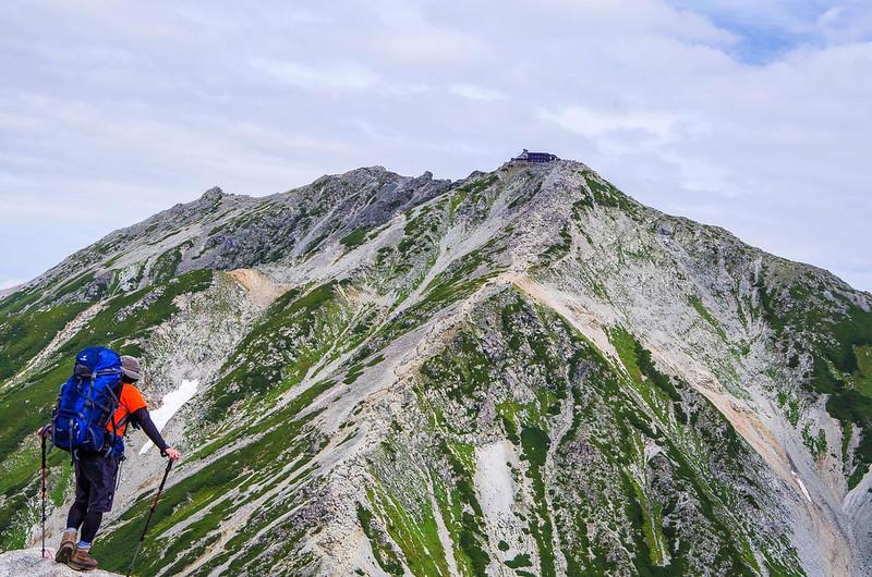 立山の山頂