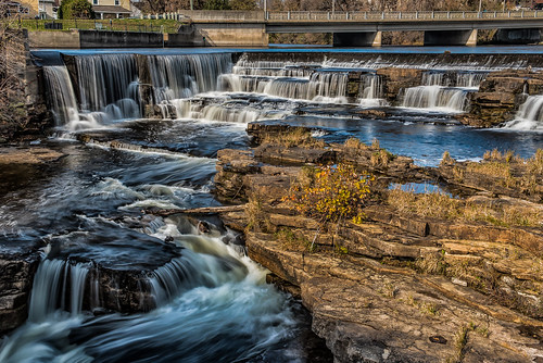 ontario canada waterfall falls almonte mississippimills